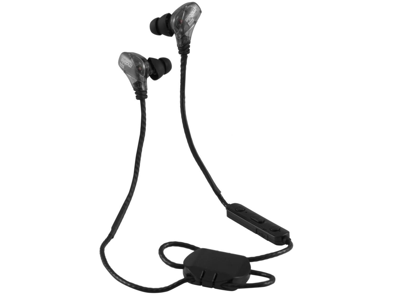 Fone de Ouvido Bluetooth Easy Mobile Runner - Dual Bass BT Intra-auricular Esportivo Preto