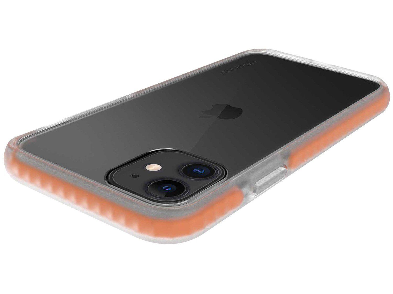 Capinha de Celular Anti-Impacto para iPhone 11 - Geonav Impact Pro Laranja