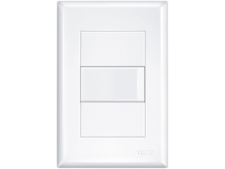 Interruptor Simples Fame 10A 4x2 Evidence - Branco
