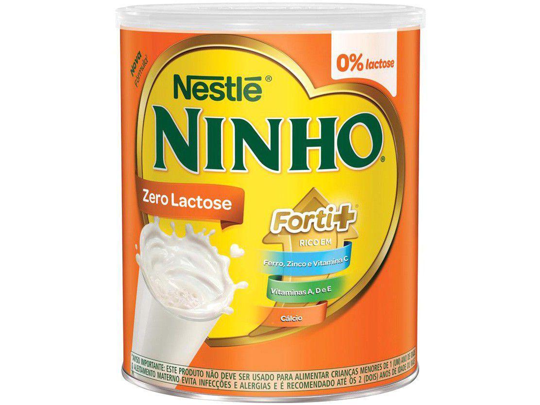 Composto Lácteo Ninho Original Forti+ Zero Lactose - 380g