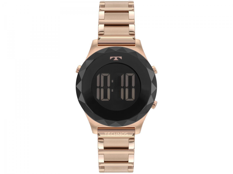 Relógio Feminino Technos Digital BJ3851AC/4P - Rosê