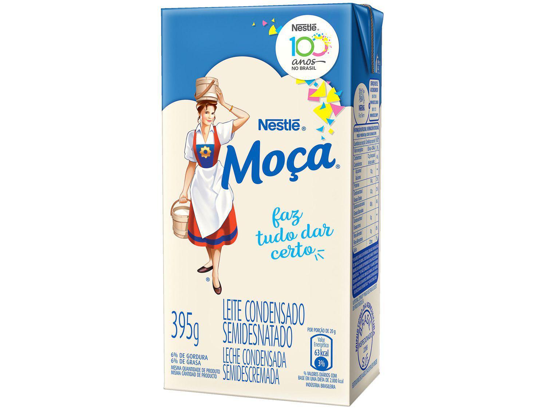 Leite Condensado Nestlé Semidesnatado Moça - Caixa 395g