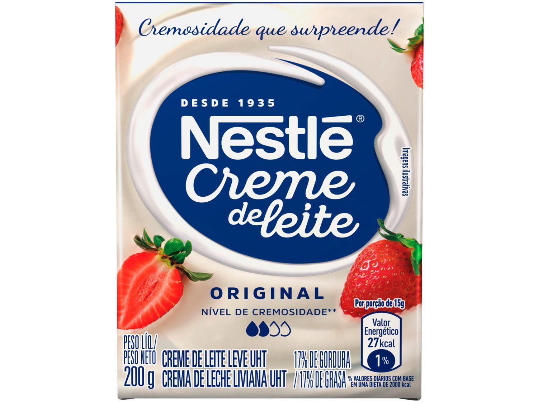 Creme de Leite Integral Original 200g Nestlé - 1 Unidade