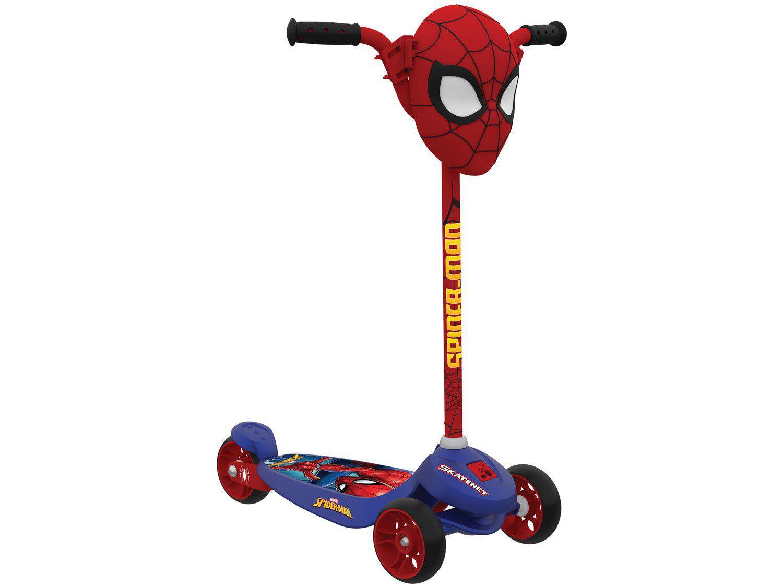 Patinete 3 Rodas Homem-Aranha Kid Skatenet - Bandeirante