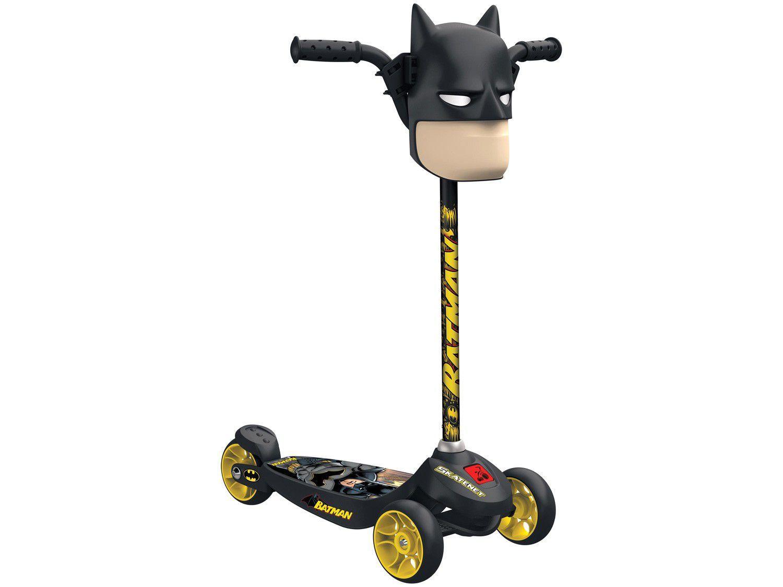 Patinete 3 Rodas Batman Kid Skatenet - Bandeirante