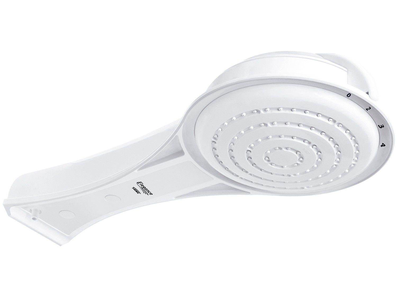 Ducha Fame Elegance 5400W Redonda - 4 Temperaturas Branca Multitemperaturas