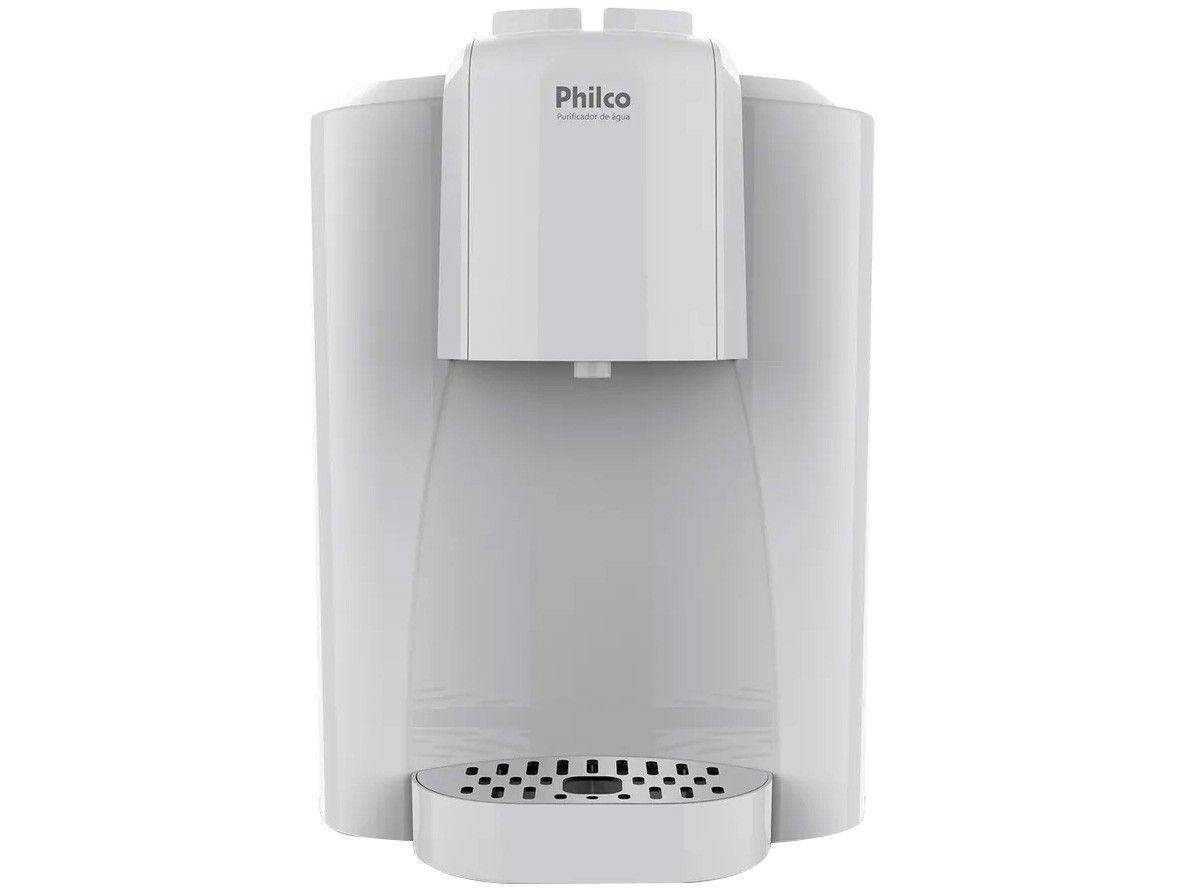 Purificador de Água Philco Refrigerado Eletrônico - Branco PBE04BF Água Gelada e Natural