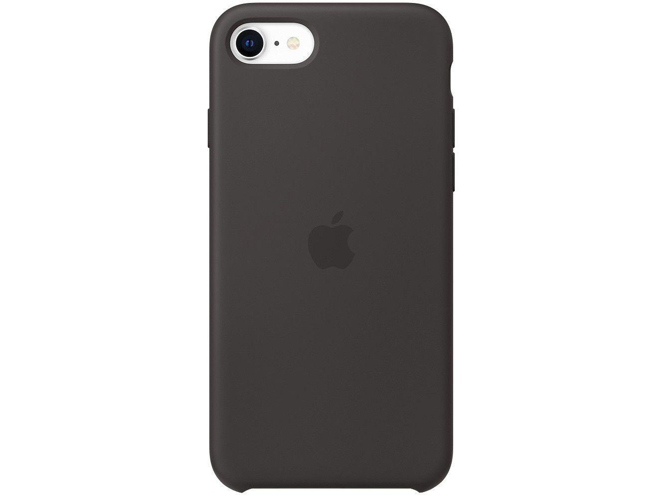 Capinha de Celular Silicone iPhone SE Apple - MXYH2ZM/A Preto