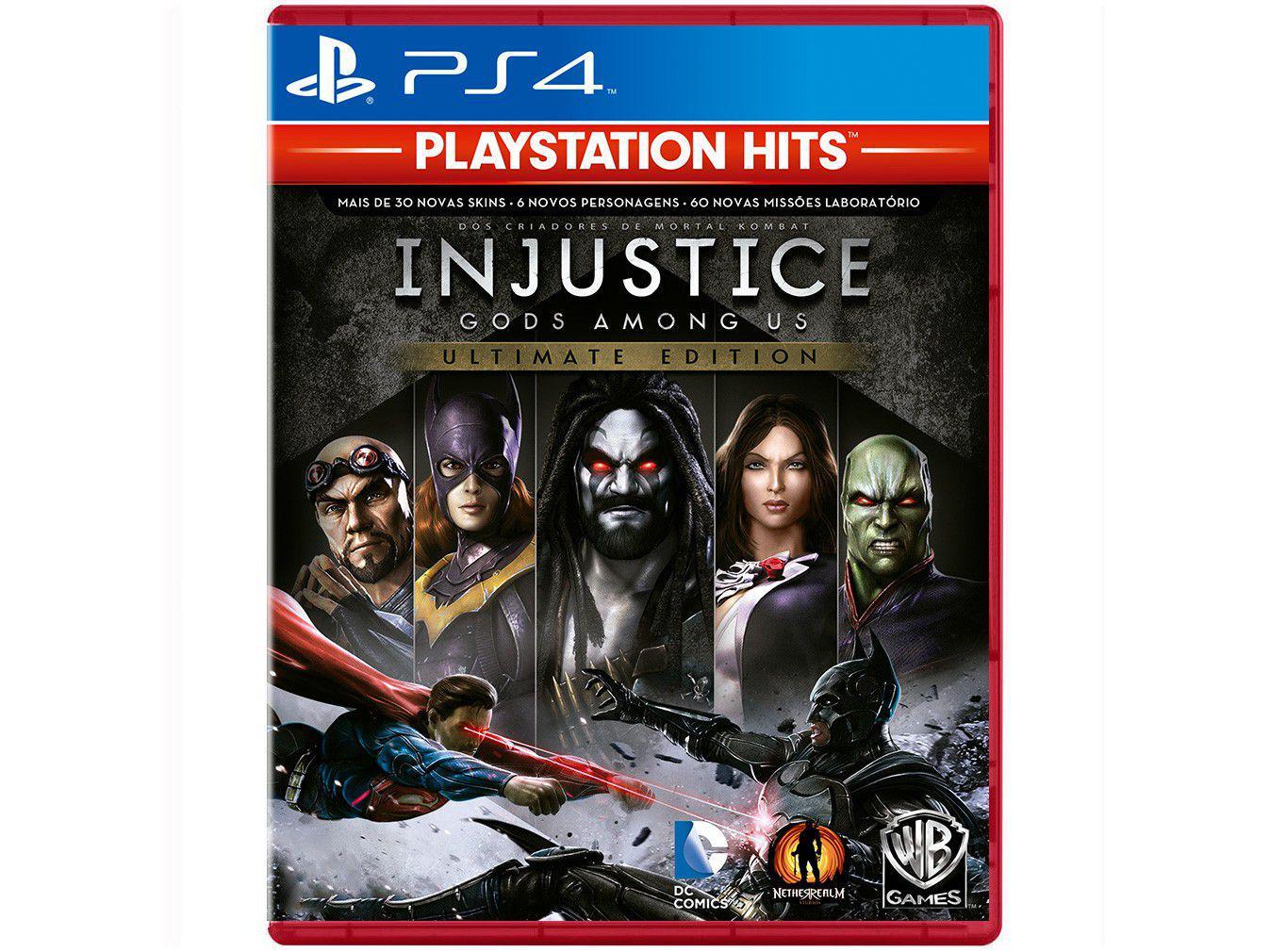 Injustice Gods Among Us Ultimate Edition para PS4 - WB Games PlayStation Hits