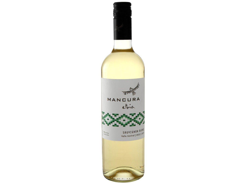 Vinho Branco Seco Mancura Etnia Sauvignon Blanc - 750ml
