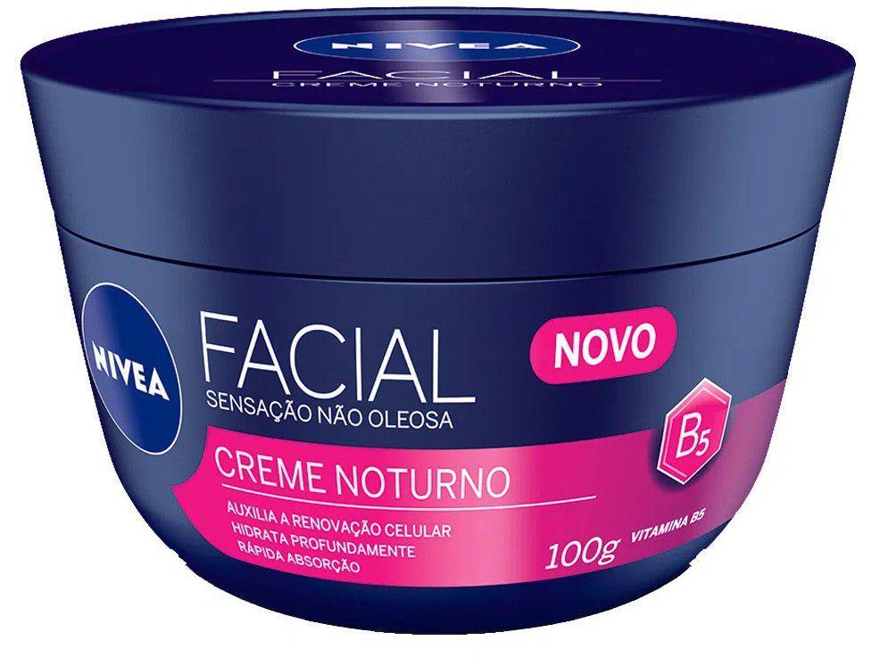 Creme Hidratante Facial Nivea Noturno 100g