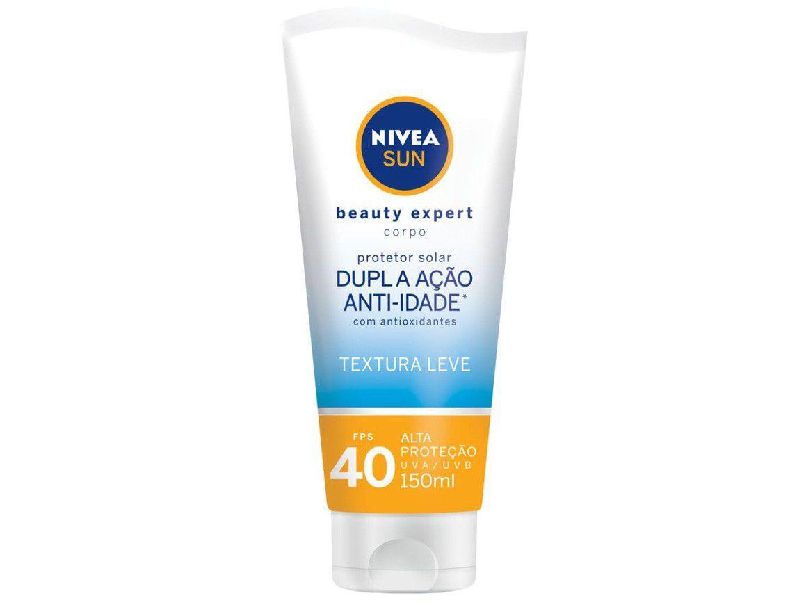 Protetor Solar Corporal Nivea FPS 40 Sun - Beauty Expert 150ml