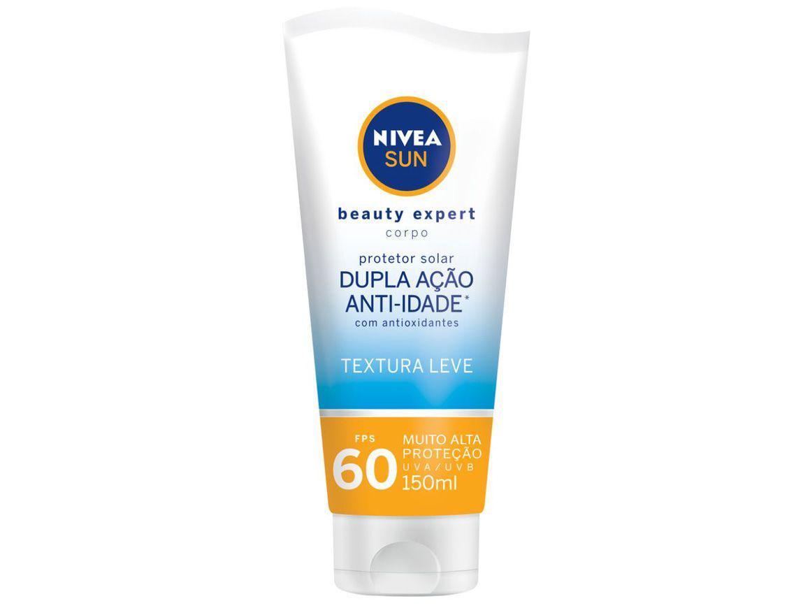 Protetor Solar Corporal Nivea FPS 60 Sun - Beauty Expert 150ml