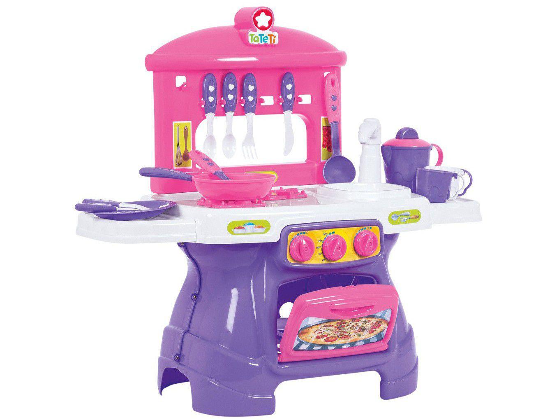 Cozinha Infantil Faz de Conta Mini Chef Rosa - Ta Te Ti