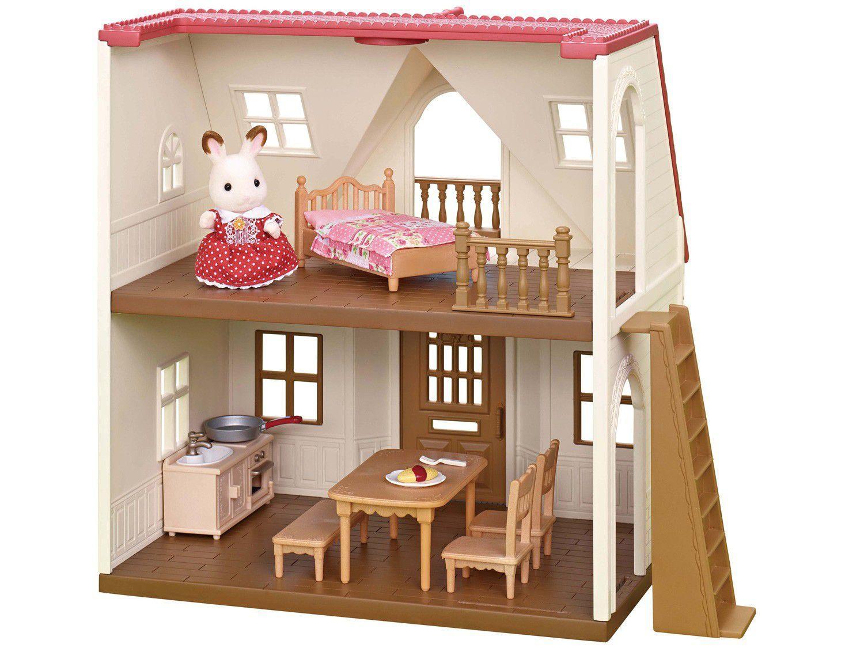 Sylvanian Families Primeira Casa com Acessórios - Epoch Magia