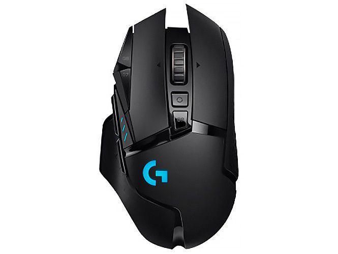 Mouse Gamer RGB sem Fio Logitech Laser 16000DPI - 11 Botões G502 Lightspeed Preto