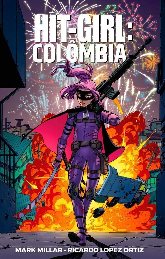 Hit-Girl Vol 1: Colômbia
