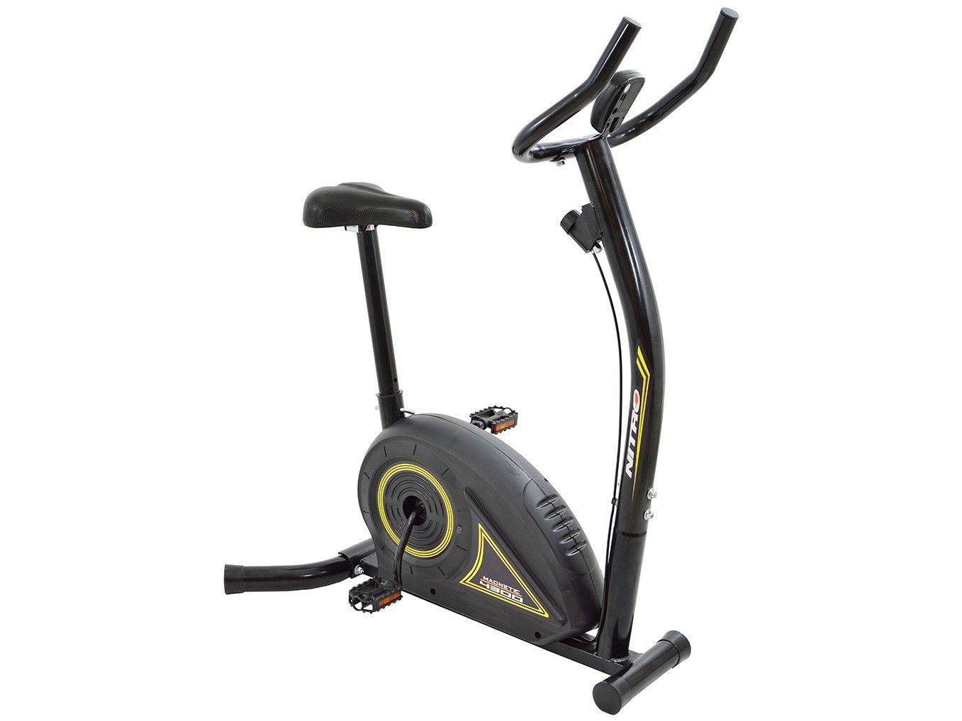 Bicicleta Ergométrica Polimet Nitro 4300 Magnética - 5 Funções