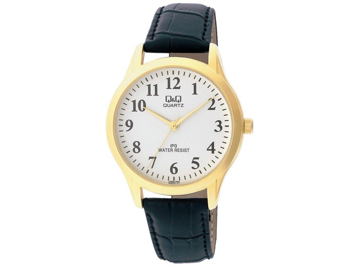 Relógio Masculino Q&Q Analógico C168J104Y - Preto