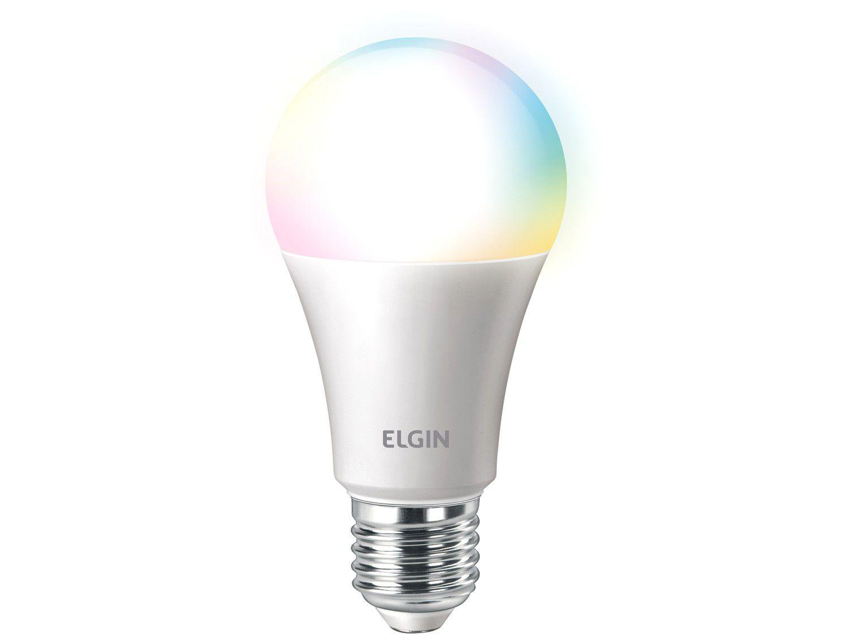 Lâmpada Smart Wi-Fi Elgin Smart Color Bulbo LED - 10W