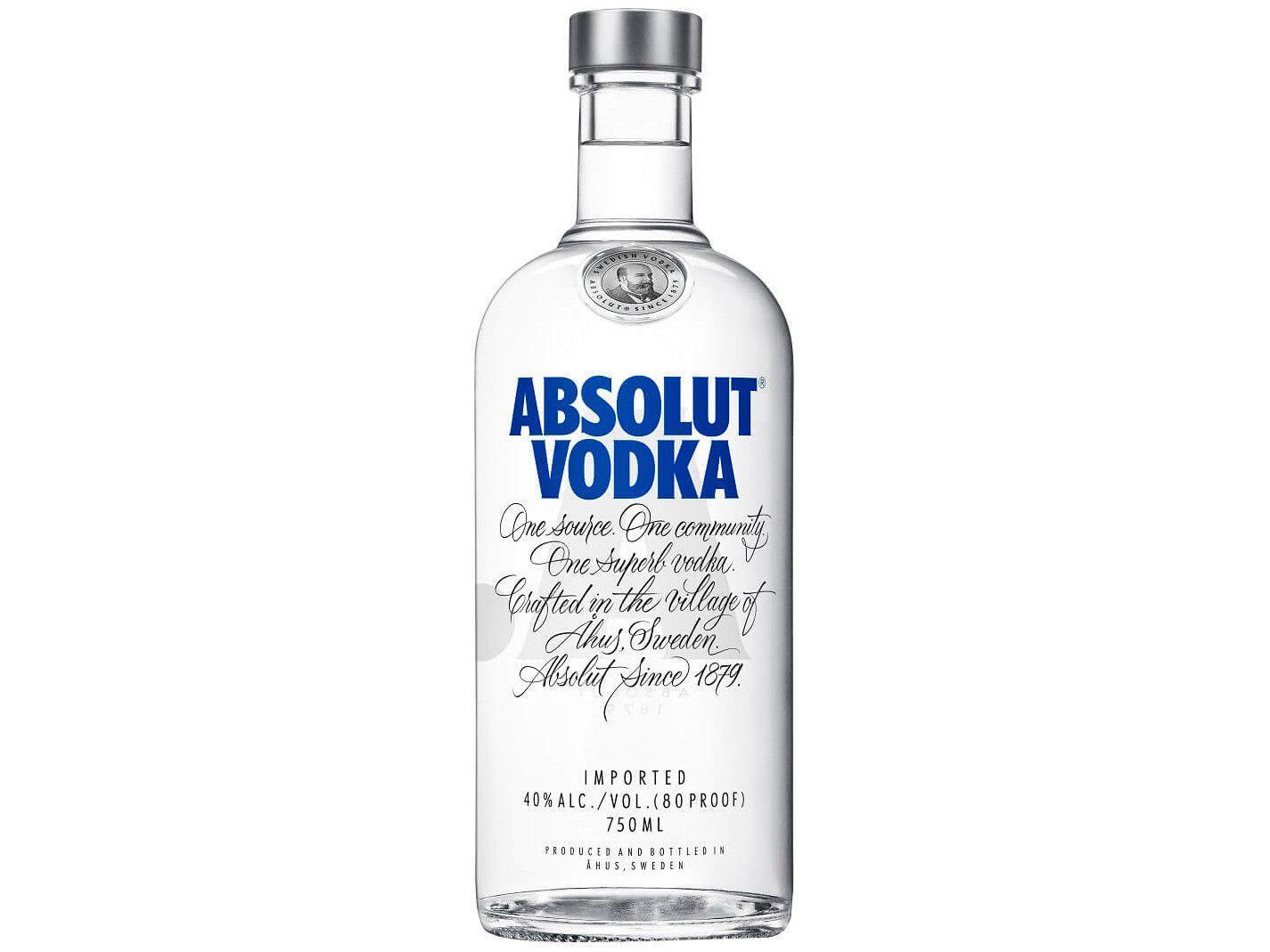 Vodka Absolut Original - 750ml