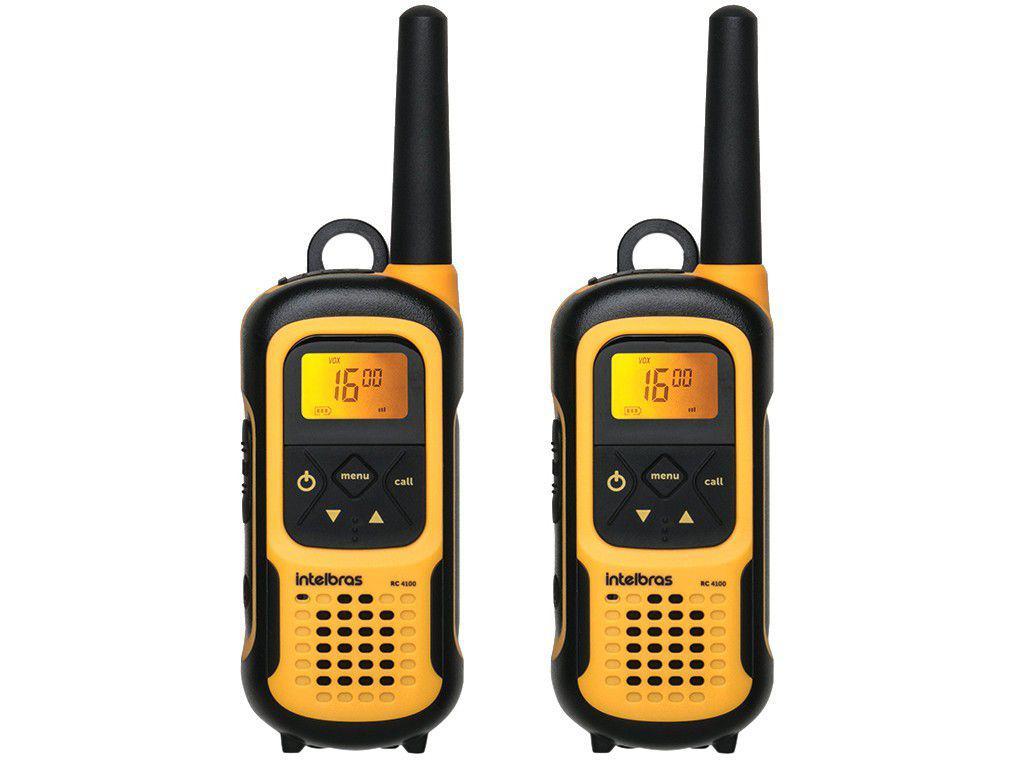 Rádio Comunicador Walkie Talkie Intelbras RC4102 - 26 Canais
