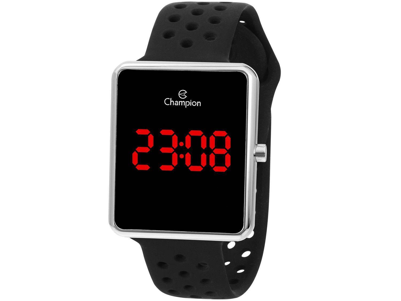Relógio Unissex Champion Digital CH40081T - Preto