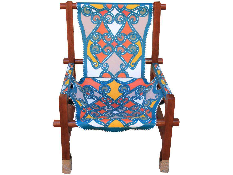 Cadeira para Área Externa de Madeira - Casa Martha Medeiros Redinha