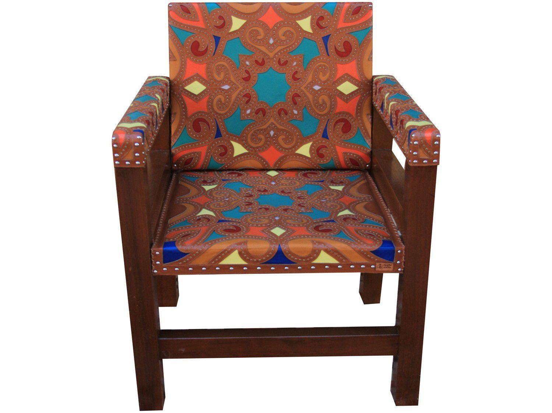 Cadeira para Área Externa de Madeira - Casa Martha Medeiros Rei