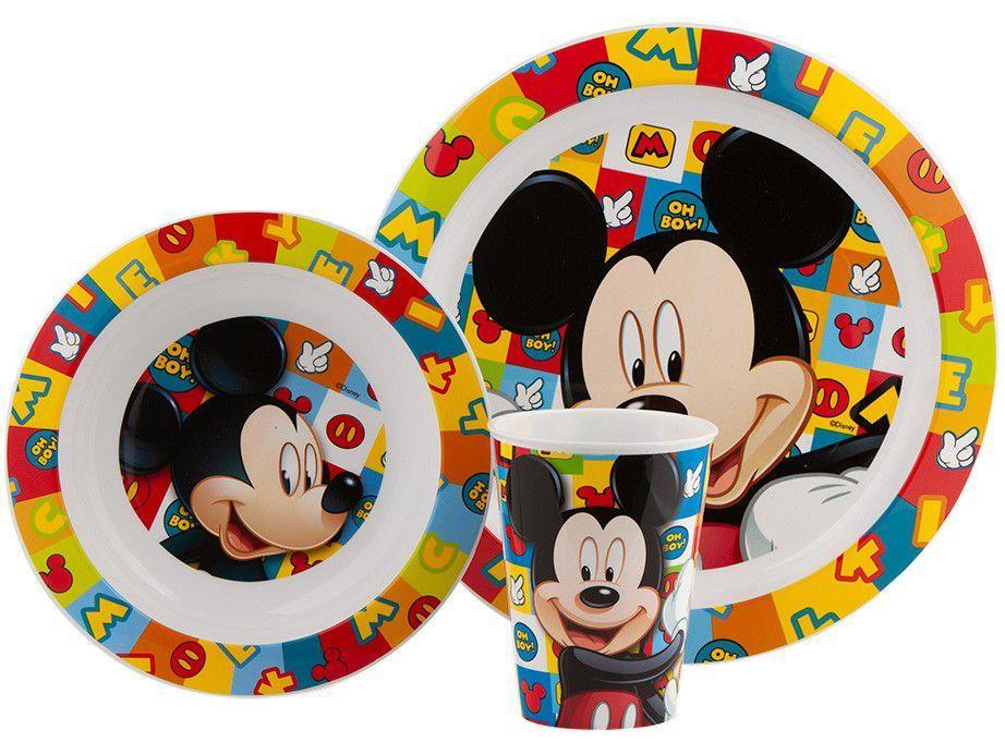 Kit Alimentação Infantil 3 Peças Lillo - Baby Care Disney