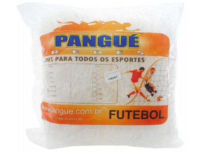 Rede de Futebol de Campo 2mm Pangué - Malha 15x15 2 Unidades