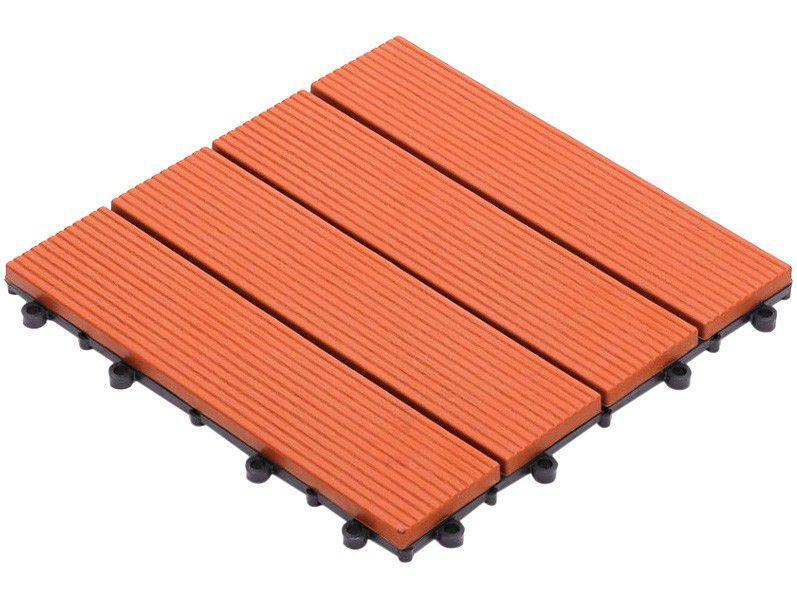 Mini Deck de Polipropileno Frisado Caramelo - 30x30cm Massol DE2027
