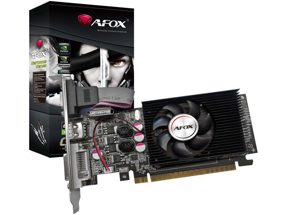Placa de Vídeo Afox GeForce GT210 1GB DDR3 - AF210-1024D3L8