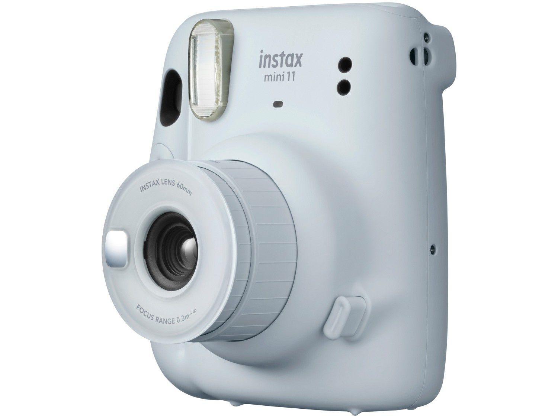 Instax Mini 11 Fujifilm Branca Flash Automático
