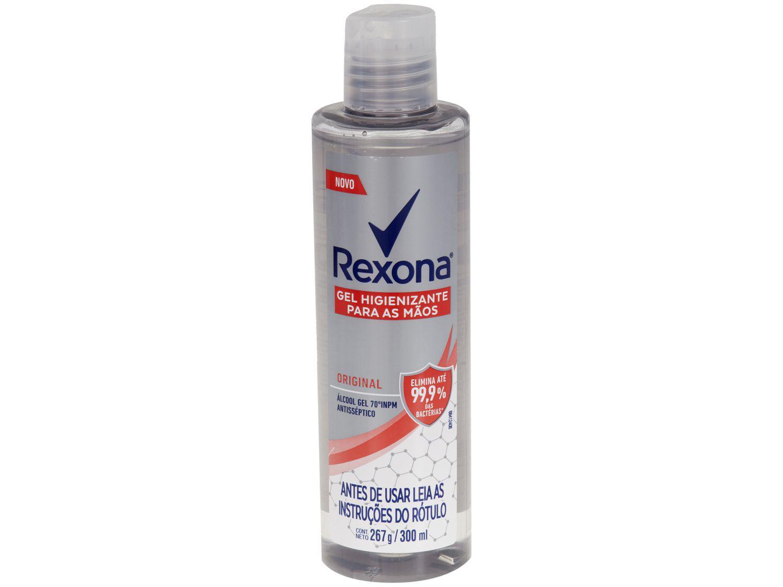 Álcool em Gel 70% Antisséptico 300ml Rexona - Original