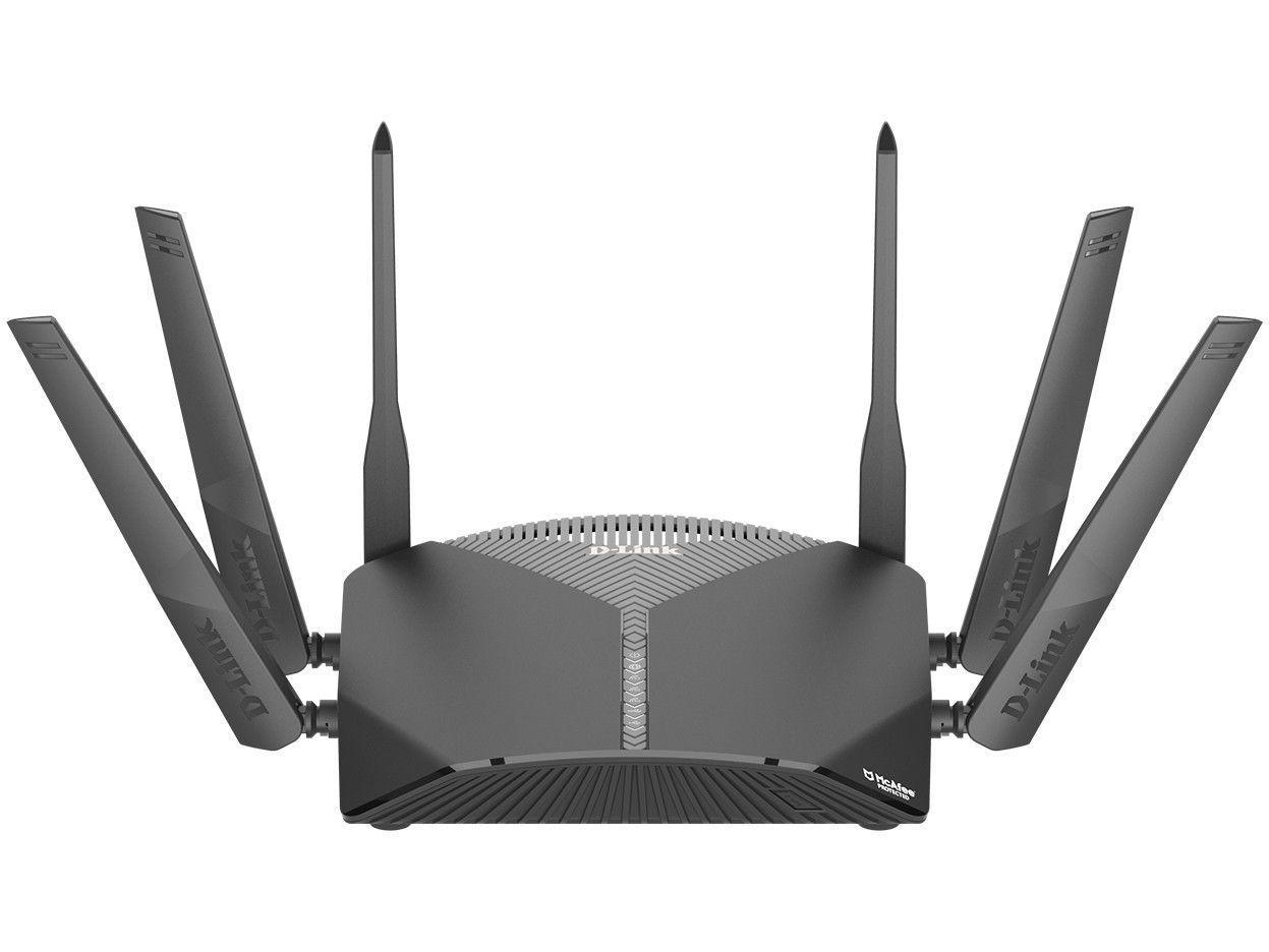 Roteador Mesh D-Link DIR-3060 3000Mbps - 6 Antenas 5 Portas