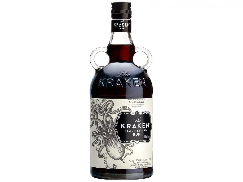 Rum The Kraken 750ml - Black Spiced