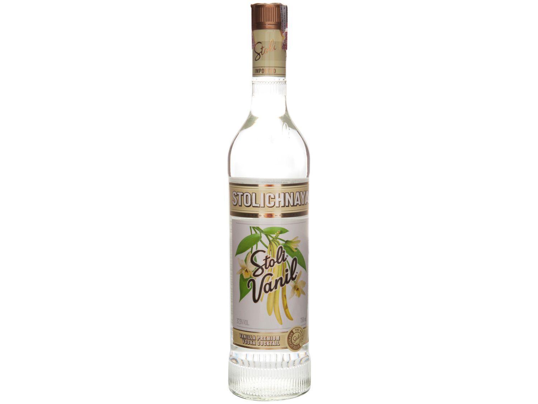 Vodka Stolichnaya Baunilha Stoli Vanil 750ml