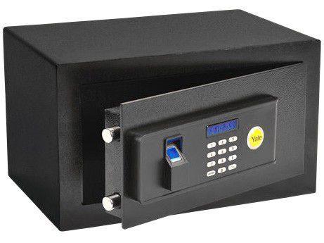 Cofre de Parede e Sobrepor com Senha Biométrico - e com Chave Yale Standard Compact