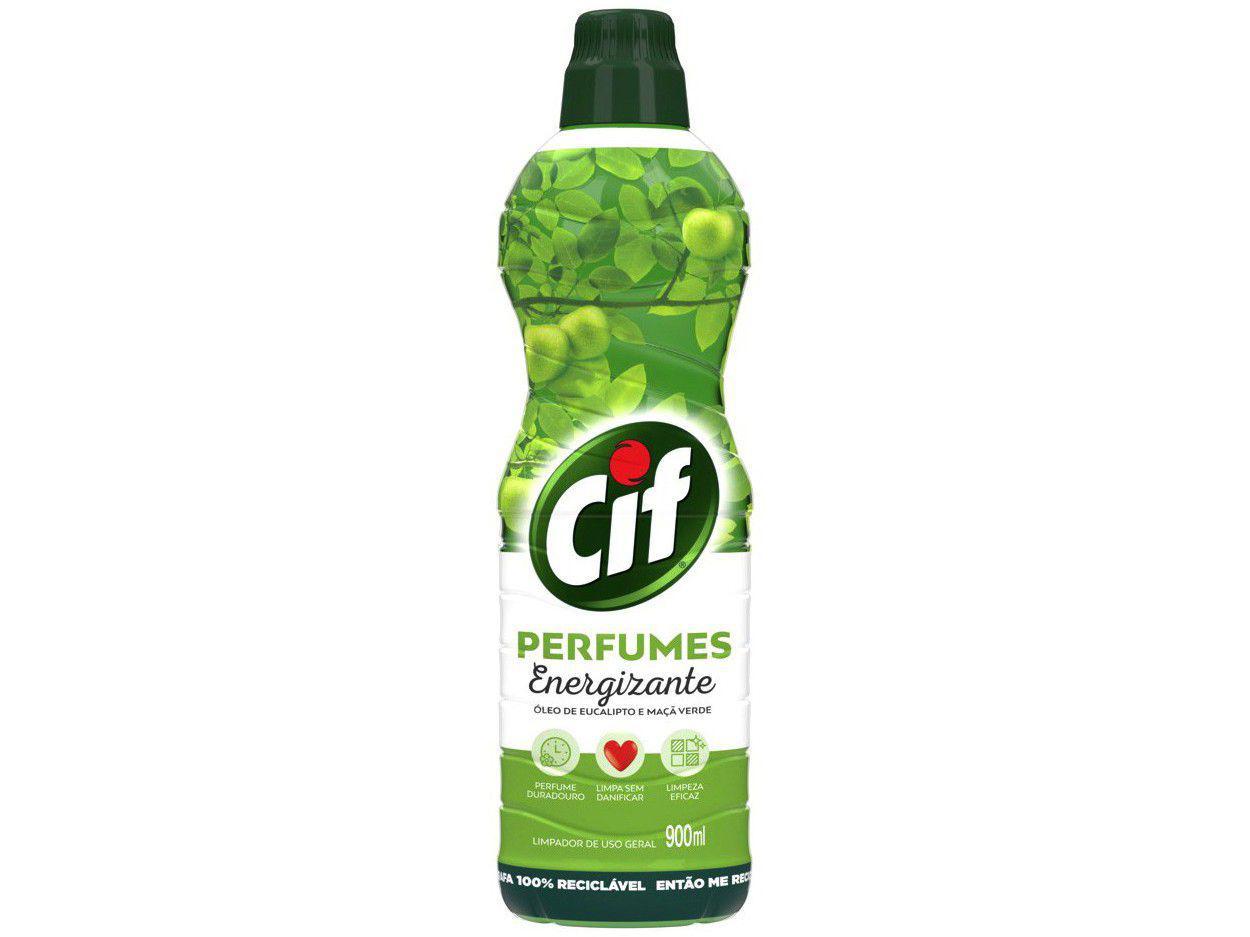 Limpeza de Pisos Cif Perfumes 900ml Energizante