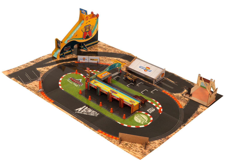 Playset Radiator Springs Carros Disney - Xalingo 20 Peças