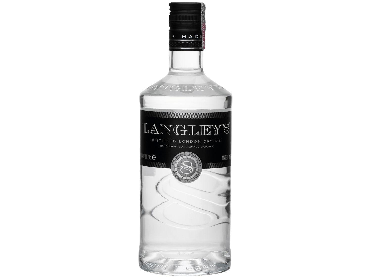 Gin Langleys London Dry Seco Number 8 - 700ml