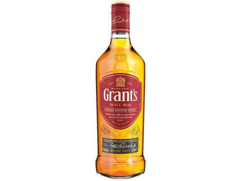 Whisky Grants Escocês Triple Wood - 750ml