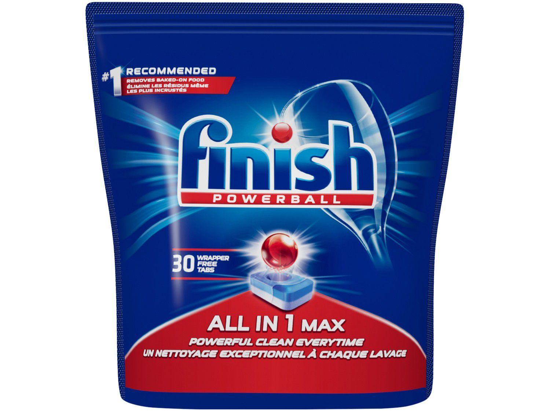Detergente em Tabletes Lava-Louças Finish Tabs - 507g com 30 Unidades