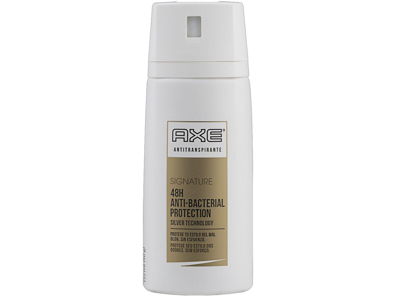 Desodorante Antitranspirante Aerossol Axe - Signature Anti-bactericida Masculino 152ml