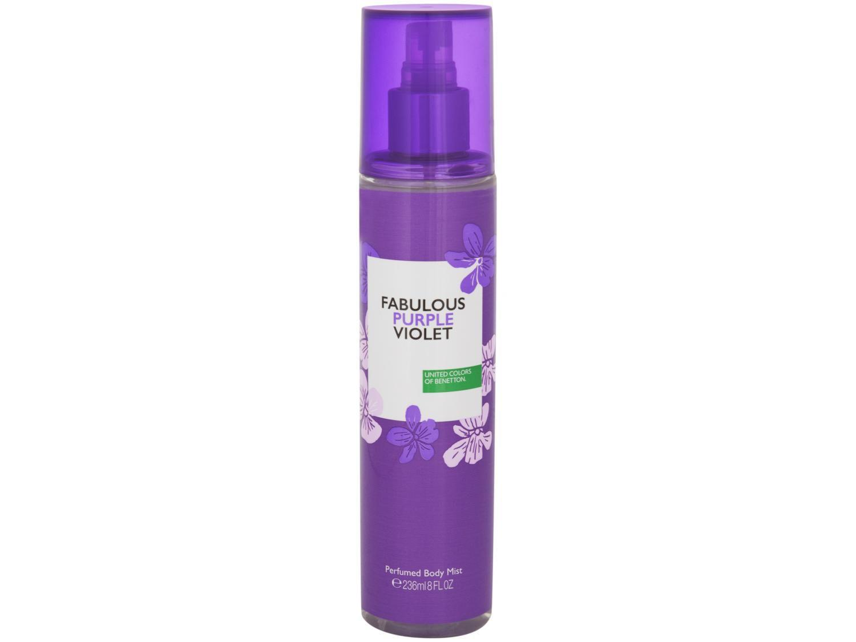 Body Mist Benetton Others Fabulous Purple Violet - Oriental Gourmand 236ml