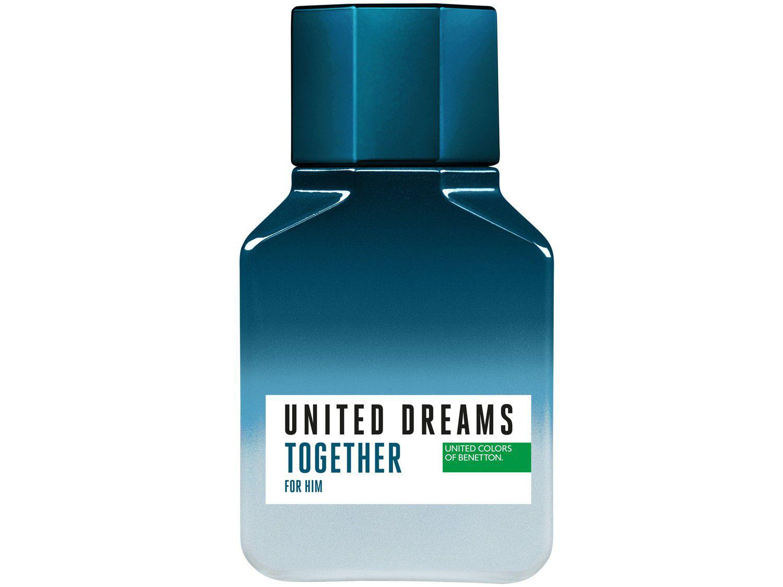 Kit Perfume Benetton United Dreams Together - Masculino Eau de Toilette 100ml 3 Unidades