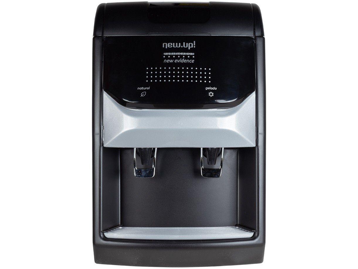 Purificador de Água Newup Refrigerado - por Compressor Preto New Evidence