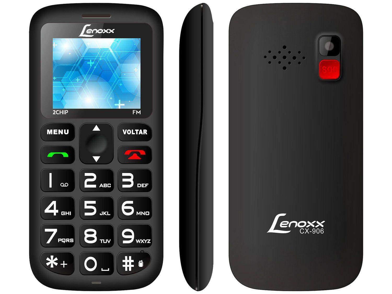 Celular Lenoxx CX 906 Dual Chip 16MB Rádio FM MP3 - Bluetooth Desbloqueado