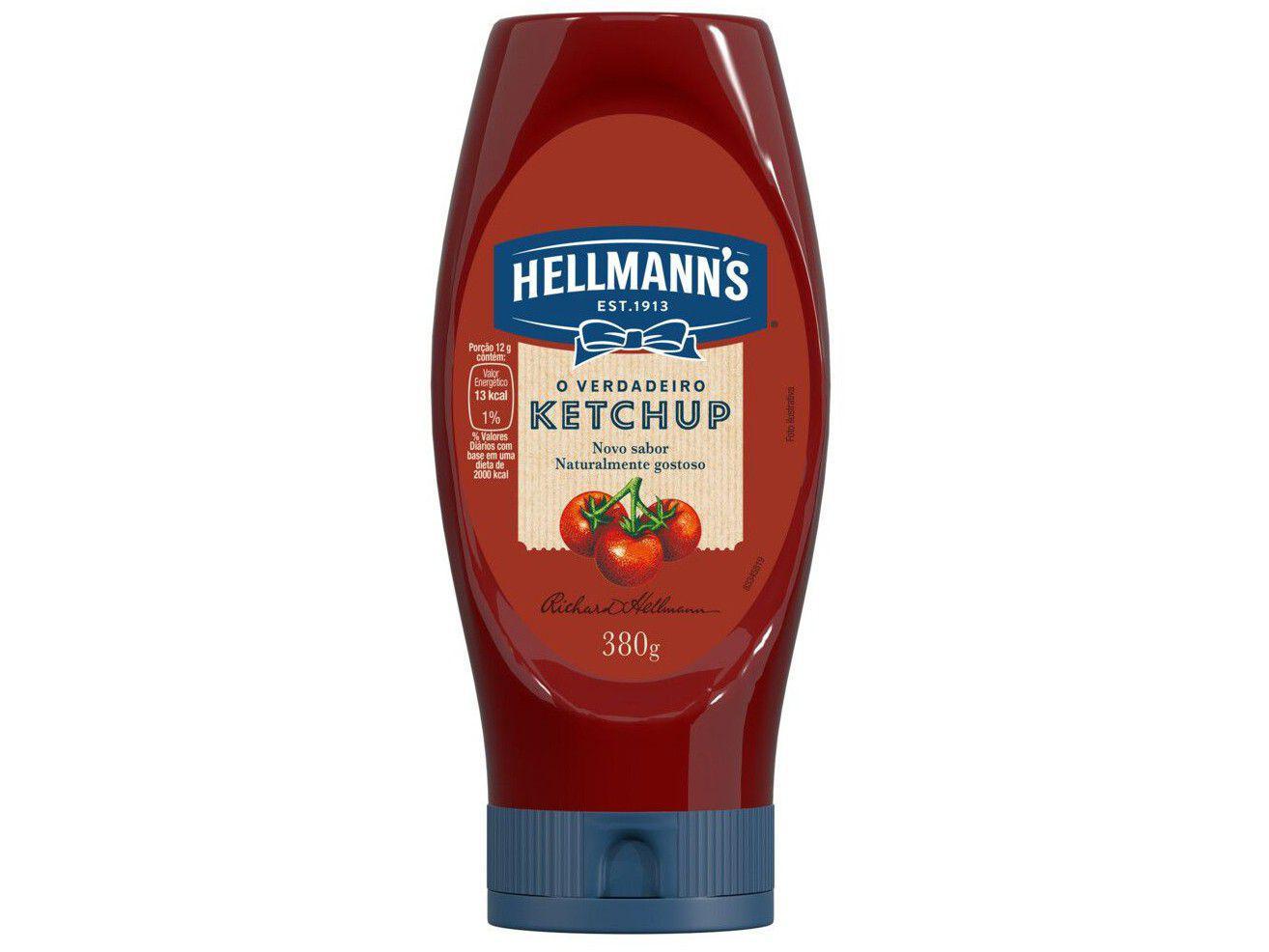 Ketchup Tradicional Hellmanns 380g